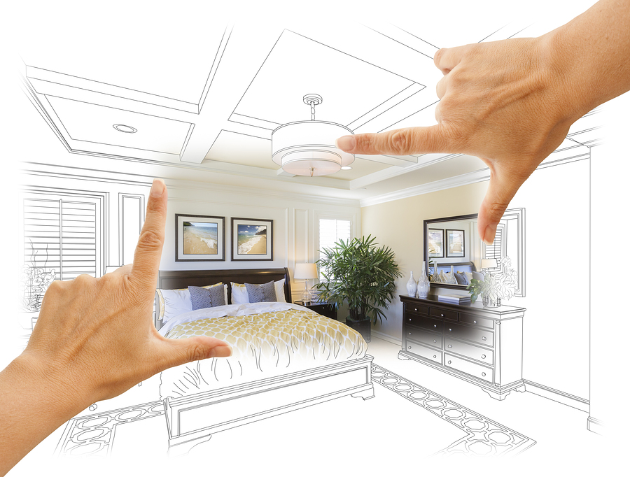 Beautiful Hands Framing Custom Bedroom Drawing Photograph Combin
